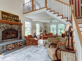 NEW LISTING! Secluded, elegant home w/ furnished deck - close to 4 ski resorts!