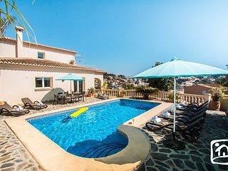 5 bedroom Villa in Benissa, Valencia, Spain : ref 5401503