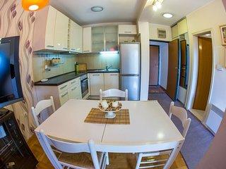Accogliente appartamento vicino al mare con 1 camera da letto.