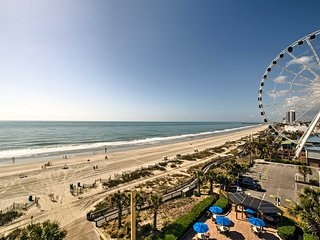NEW! Myrtle Beach Resort Condo w/ Ocean Views!