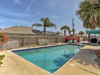 NEW! Ormond Beach Home w/ Pool-Walk to Beach!