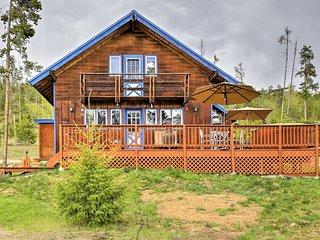 Quiet Ski Lodge on 1 Acre: Pet Friendly & BBQ Deck