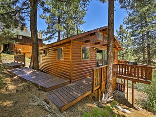 NEW-Cozy Cabin -Mins Bear Mountain & Big Bear Lake