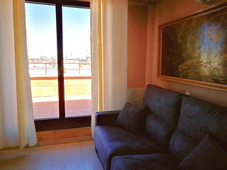 Studio apartment in Madrid with Internet, Air conditioning, Lift, Terrace (96911