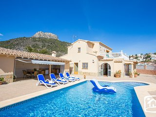 5 bedroom Villa in Calpe, Valencia, Spain : ref 5401579