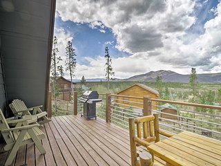 NEW! Rustic Tabernash Home w/Fire Pit & Mtn Views!
