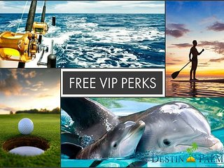 20% OFF Aug! Remodeled GULF VIEW *Seascape Resort, Pool, Spa + FREE VIP Perks