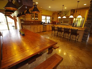 Enjoy spacious dining and kitchen area on the main level!