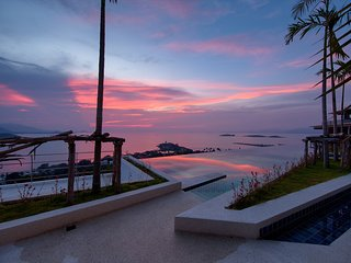 Koh Samui Luxury Sea View Infinty Pool Apartment 'E' 3 beds - UniQue Residences