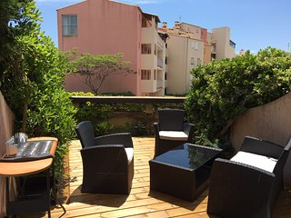 Le 112 de l'Ile - Charmant T3 cosy Terrasse Piscine Parking Mer 6 couchages