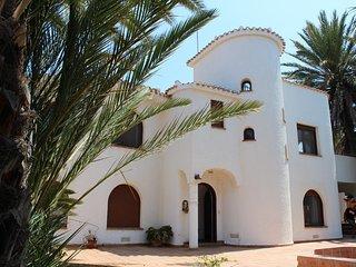 *NUEVO* Exclusiva Villa en primera línea de playa, excelente para grupos.