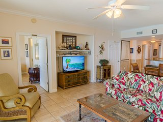 Relax in the great room with a 'man-sized' Cable TV!