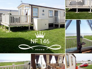 Skipsea Sands, Northfield 146 , Christines caravan,Sea view,  C/h-D/g ,WIFI