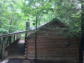 Private 1 Bedroom Cabin that sleeps 4 in  beautiful Wears Valley!