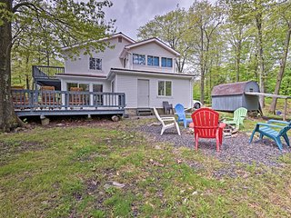 Tobyhanna House w/ Private Wraparound Decks!