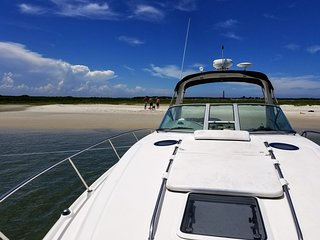 Charter and or Stay Aboard this Beautiful 36' Sea Ray Sundancer
