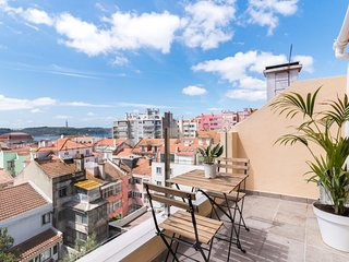 Incredible 1bed with terrace in Lapa