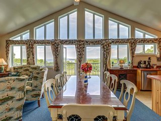 NEW LISTING! Hilltop home w/large deck & views of the Lake Champlain Islands!