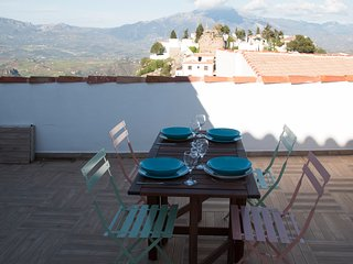 boutique village house in comares