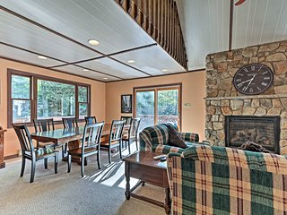 With so much open space, this home is perfect for 18.