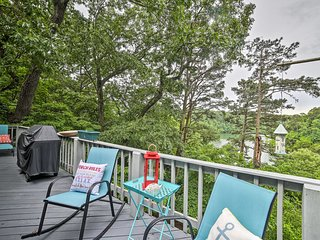 Luxury Home w/Furnished Deck on Beaver Lake!