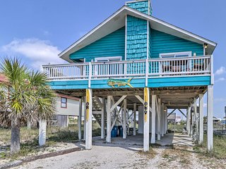 NEW! Lovely Gulf Shores Home w/Deck & Ocean Views!