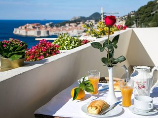 Apartment 677 m from the center of Dubrovnik with Internet, Air conditioning, Ba