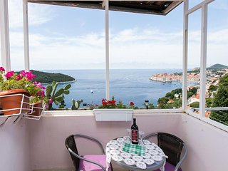 Apartment 667 m from the center of Dubrovnik with Internet, Air conditioning, Ba