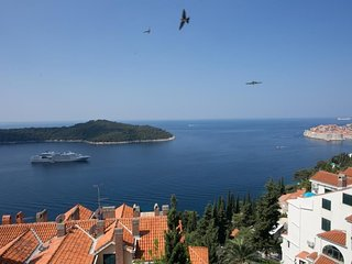 Apartment 647 m from the center of Dubrovnik with Internet, Air conditioning, Ba