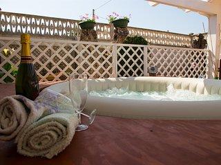 Chalet Gallipoli Parcheggio giardino piscina idromassaggio clima