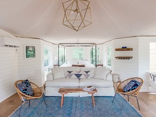 Little Dipper Safari Tent at Wahwahtaysee Resort *Luxury Glamping on 100 acres*