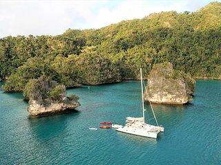Explore the REAL and REMOTE Fiji aboard the luxury adventure catamaran QUIXOTIC!