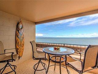 Maui Kai #107, Beautiful 1st floor Oceanfront Junior Suite