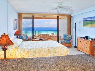 Maui Kai #403, Beautiful Oceanfront Junior Suite