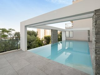 Flat with terrace, view on the beach - W399