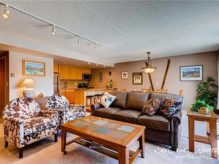 7th Night Free. Unbeatable Breckenridge Location! Views, Wi-Fi, Garage Parking