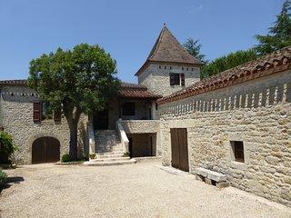Demeure Quercynoise typique en Périgord (Lot)