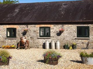 Milking Parlour Cwmcrwth Farm & Holiday Cottages Llandeilo