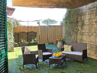 Home with sunny outdoor space