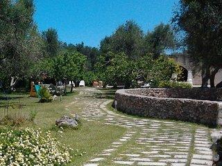 villa tra gli ulivi a 700 metri dal mare Casa rurale in perfetto stile salentino