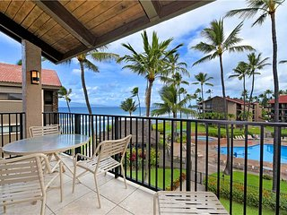 Papakea #E401 has Ocean views in North Ka'anapali Dual Split A/C System