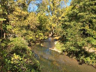 Gite et baignade en bord de rivière