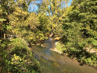 Gite et baignade en bord de riviere