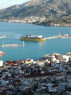 Zakynthos port, we will only be too please to meet and greet.