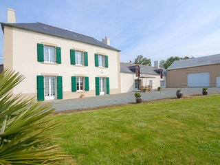 4 bedroom Villa in La Hulotais, Brittany, France : ref 5541576
