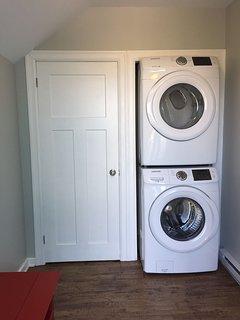 New laundry set.
