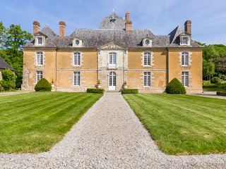 5 bedroom Chateau in Poligne, Brittany, France : ref 5049756