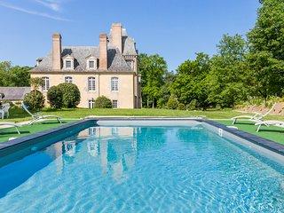 Poligne Chateau Sleeps 13 with Pool