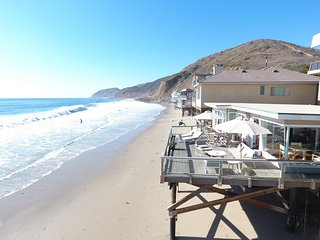 Malibu Beach Home Sand and Surf On Private Beach