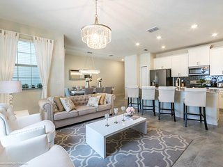 4BR 3 bath Champions Gate Townhouse with private splash pool